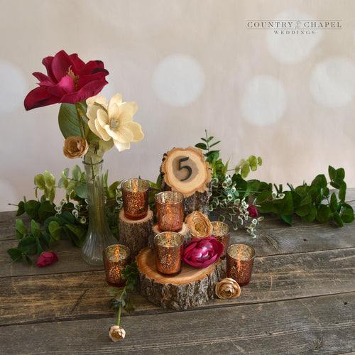 Rustic Elm Centerpiece Package