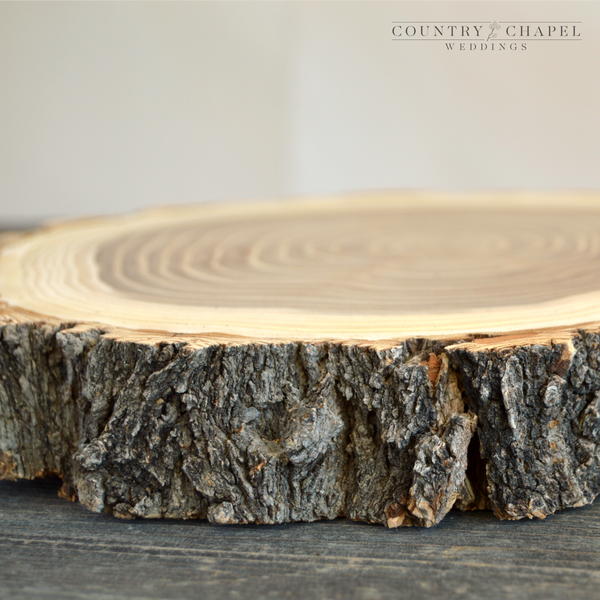 Large Elm Slices