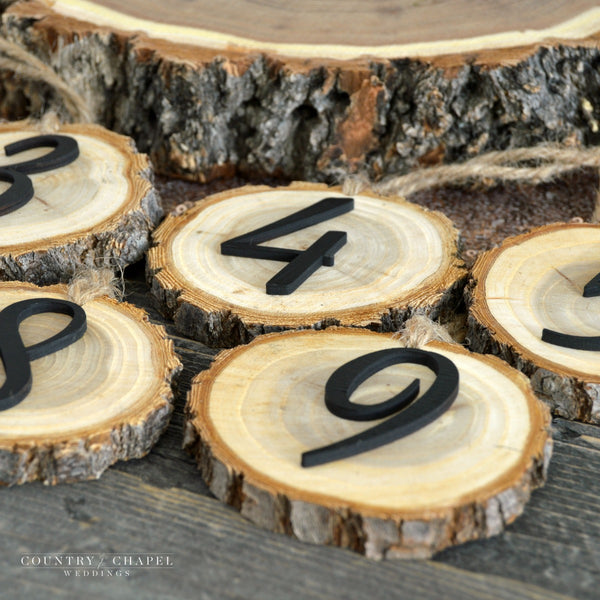 Hanging Tree Slice Table Numbers
