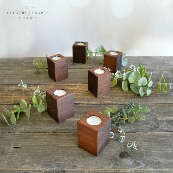 Square Tealight Candle Holder • Tall