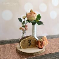 Tree Slice Table Numbers