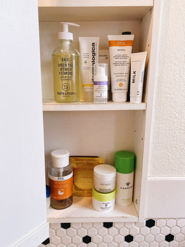 skincare products topshelfie