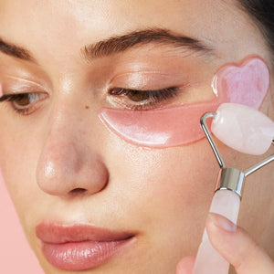 Skin Gym Rose Quartz Mini Eye Roller - Skin Gym