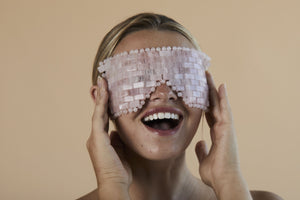 Skin Gym Rose Quartz Eye Mask - Skin Gym