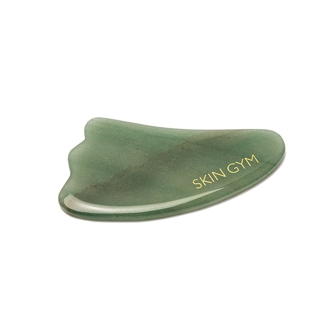 Skin Gym Jade Gua Sha Crystal Beauty Tool - Skin Gym
