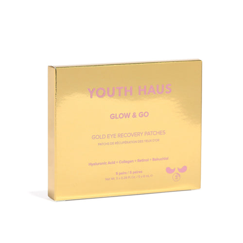 Youth Haus 24k Eye Patches (5 pack) - Skin Gym