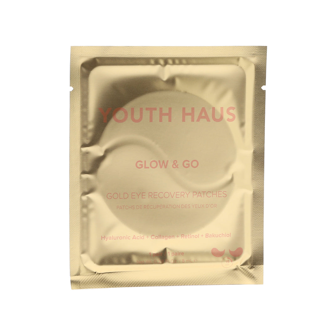Youth Haus 24k Eye Patches (Single) - Skin Gym
