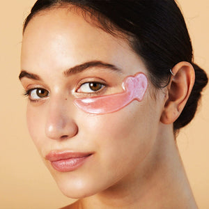 Skin Camp Hydra-Gel Rosy Hearts Eye Mask - Skin Gym