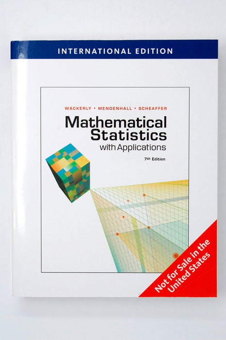 Aise Mathematical Statistics With Applications Wackerly, Mendenhall, Scheaffer 9780495385080 Cengage