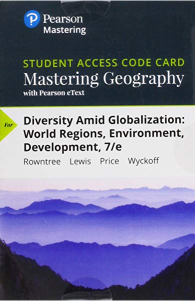 Mastering Geography & etxt Diversity Amid Globalization: World Regions