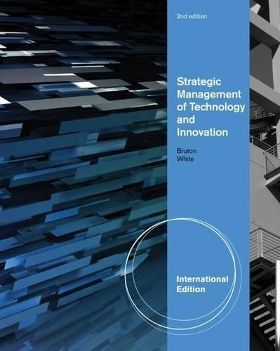 Aise Strategic Management Of Technology and Innovation