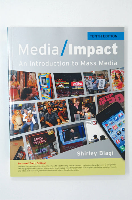 Media/Impact: An Introduction To Mass Media Shirley Biagi 9781111835293 Cengage