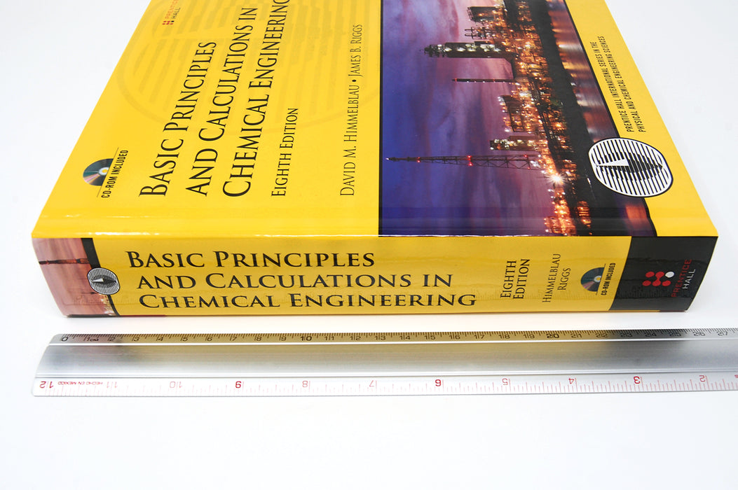 Basic Principles And Calculations in Chemical Engineering Himmelblau, Riggs 9780132346603 Pearson