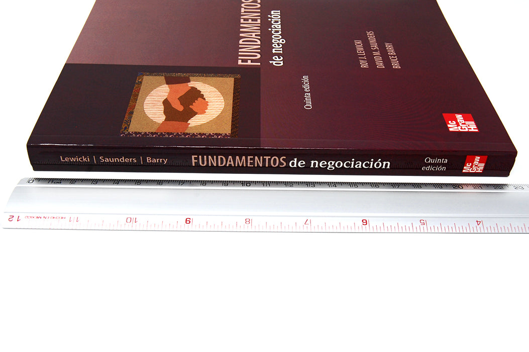Fundamentos de Negociación Lewicki, Saunders, Barry 9786071507532 McGraw-Hill