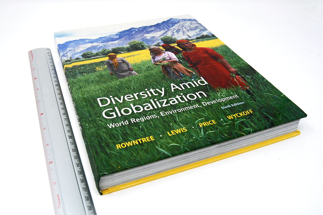 Diversity Amid Globalization: World Regions + Access Mastering Geography Rowntree, Lewis, Price, Wyckoff 9780321948892 Pearson