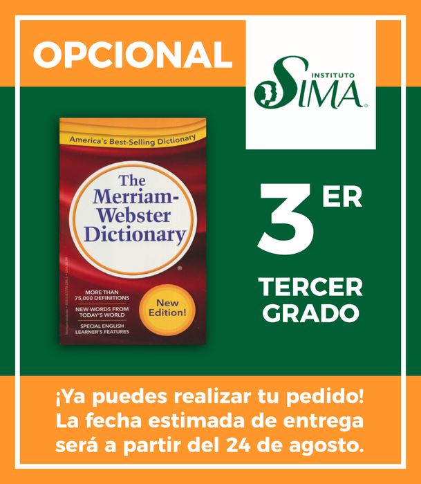 Instituto SIMA: 3 año (ENGLISH/ENGLISH DICTIONARY)