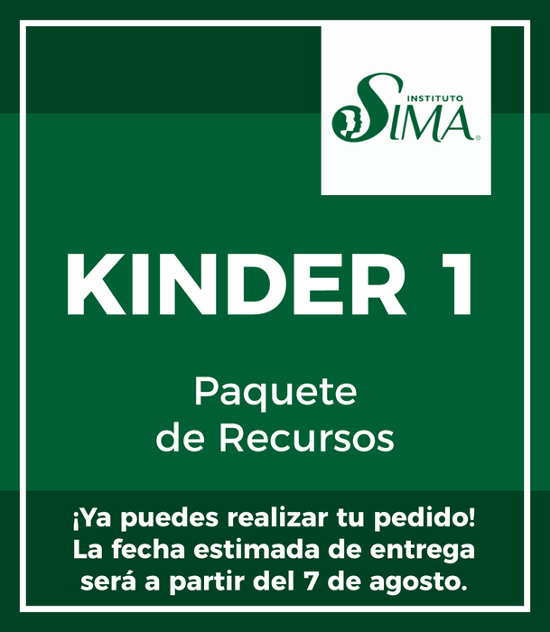 Instituto SIMA: Paquete Recursos KINDER 1