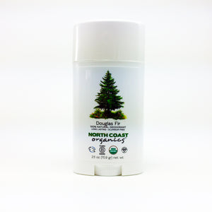 North Coast Organics Certified Organic Deodorant Photo - Douglas Fir Front Label