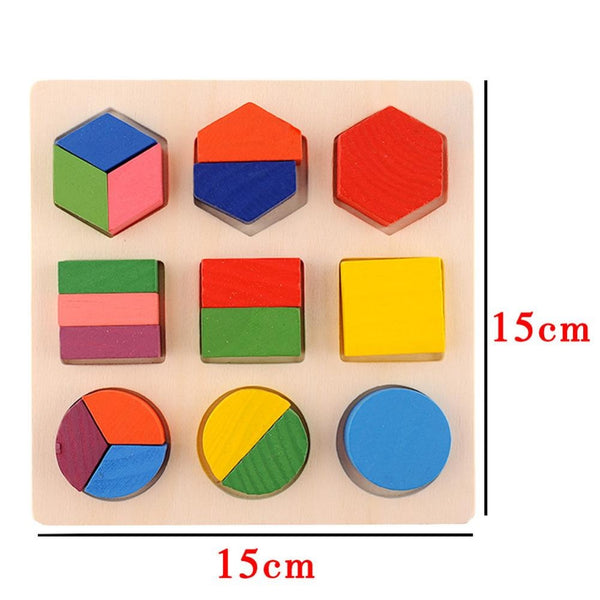 Baby Wooden Building Block