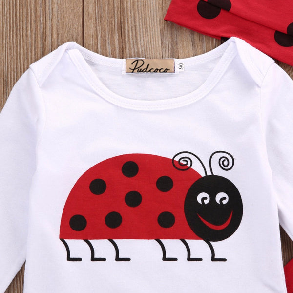 Ladybird Baby Suit 3 pieces