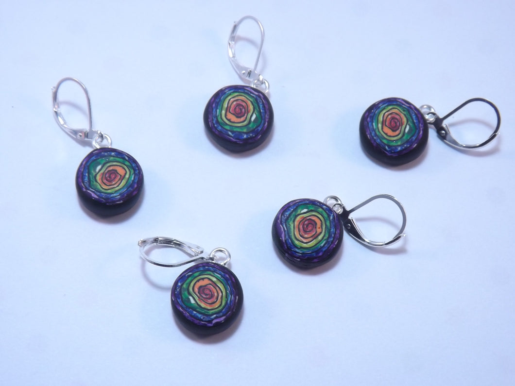 Mesmerizing Rainbow Stitch Marker Set