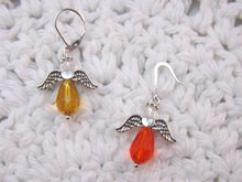 Beautiful Crystal Guardian Angel Stitch Marker Set