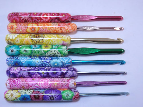 Your Choice Color and Size Susan Bates Floral Hooks