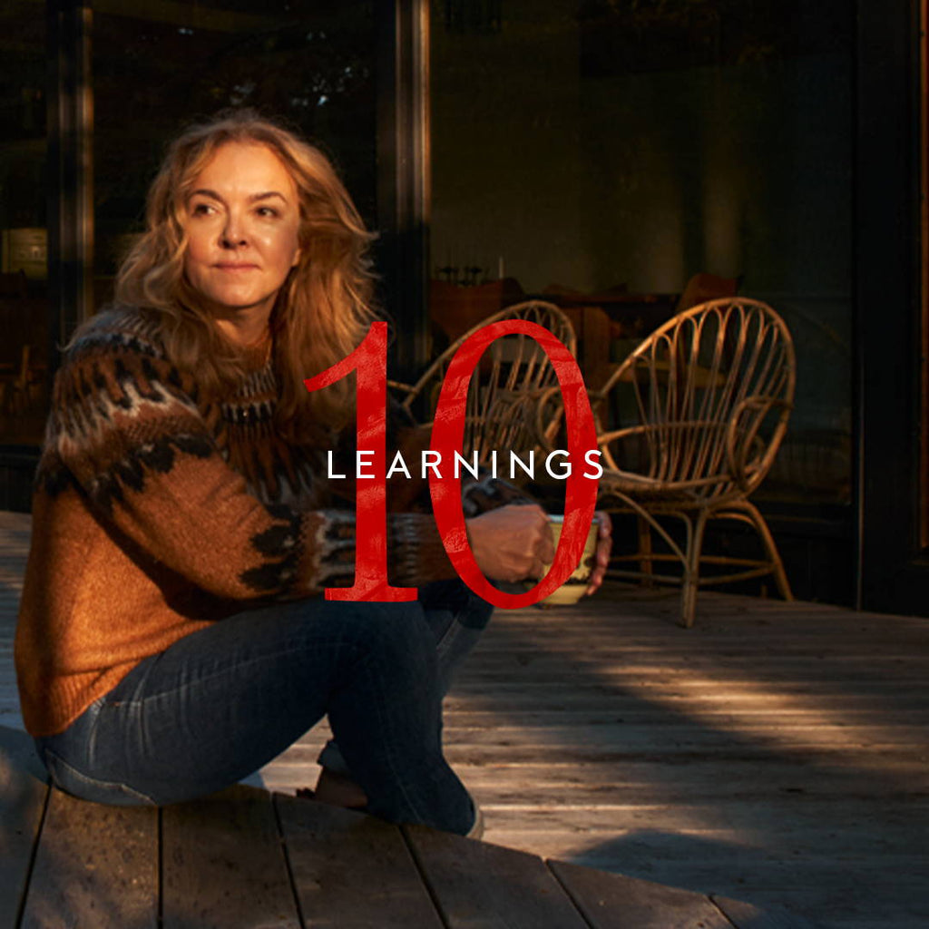 Kirsten's Top 10 Learnings