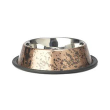 Belize Bronze Marble Dog Bowl