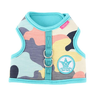 Delta Dog Harness Vest by Pinkaholic - Aqua