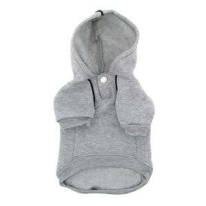 Sport Dog Hoodie by Doggie Design - Glacier Gray