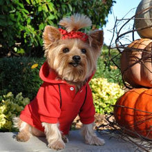 Sport Dog Hoodie by Doggie Design - Flame Scarlet Red