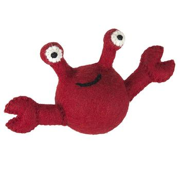 Wooly Wonkz Under The Sea Dog Toy - Crab