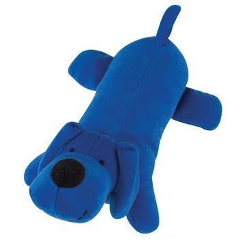 Zanies Neon Big Yelpers Dog Toy - Bright Blue