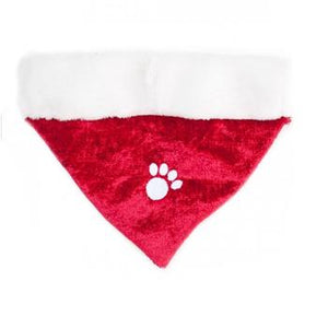 ZippyPaws Holiday Paw Dog Bandana - Red