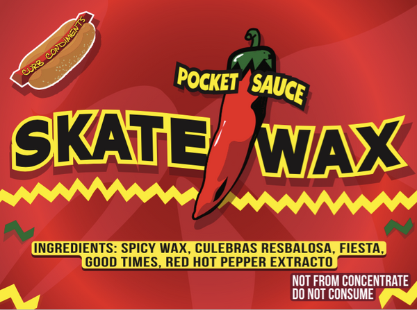 Pocket Sauce: Red Salsa Skateboard Wax