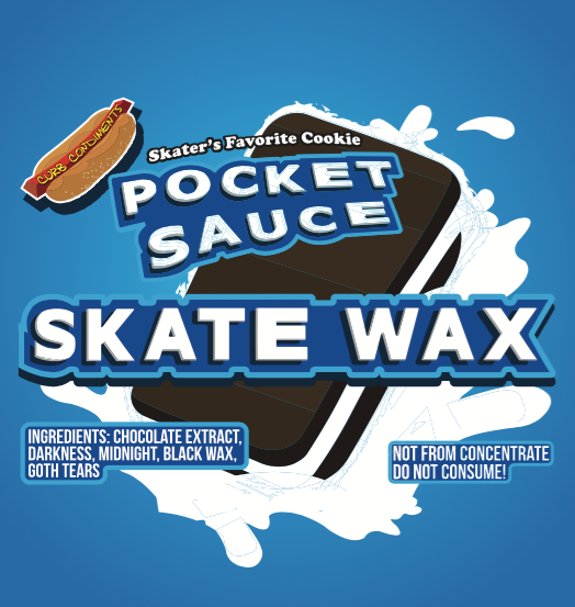 Pocket Sauce: Chocolate Cookie Skateboard Wax