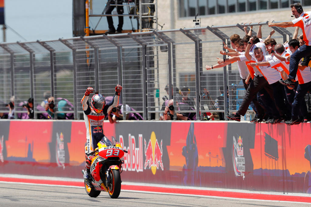 Márquez takes six win from six in Austin