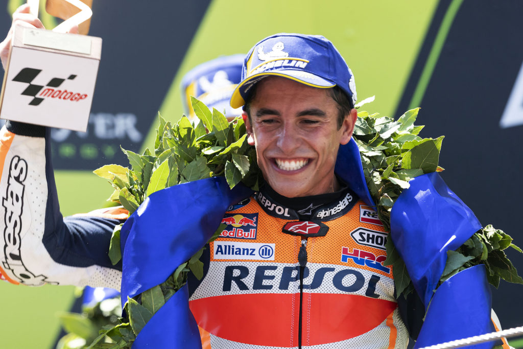 Fourth victory of the season for Márquez