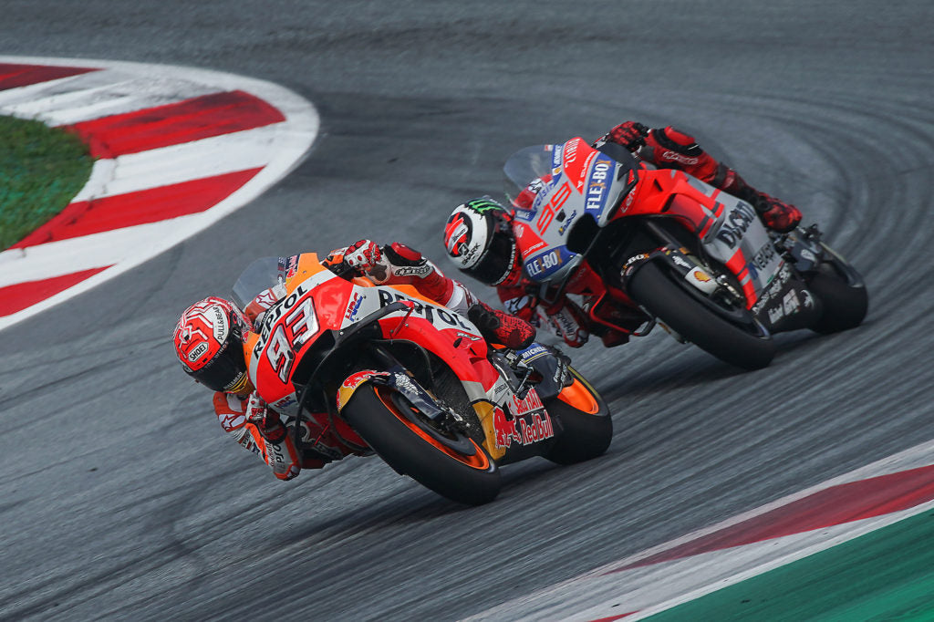 Silverstone, the next challenge for Marc Márquez and Dani Pedrosa