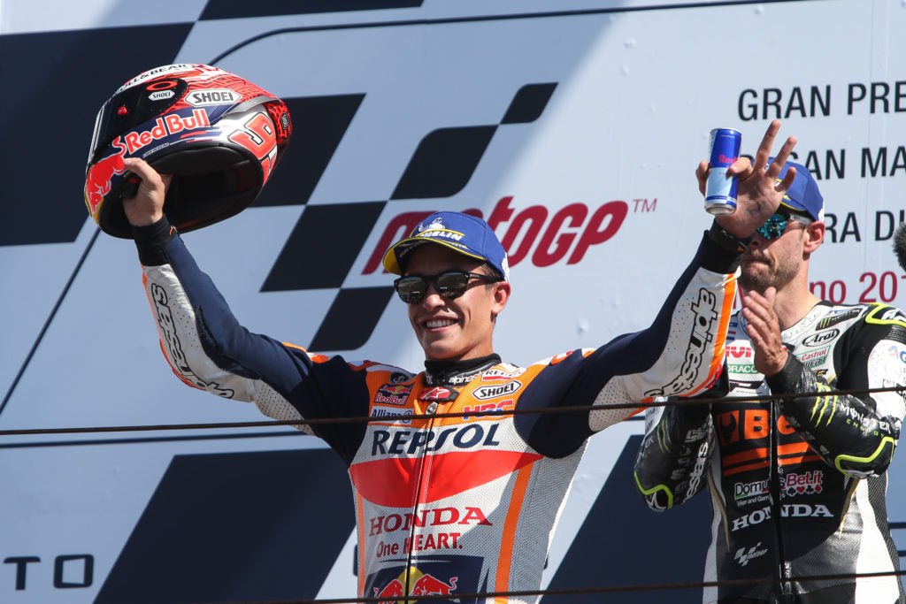 Marc Márquez takes second place for valuable podium