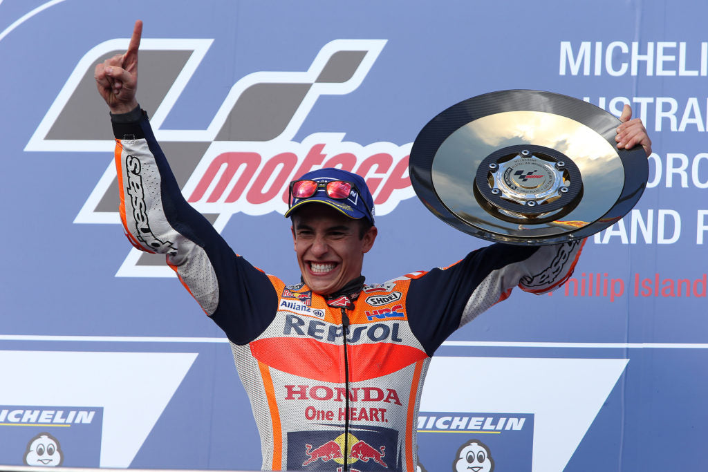 Márquez takes victory to move closer to MotoGP title