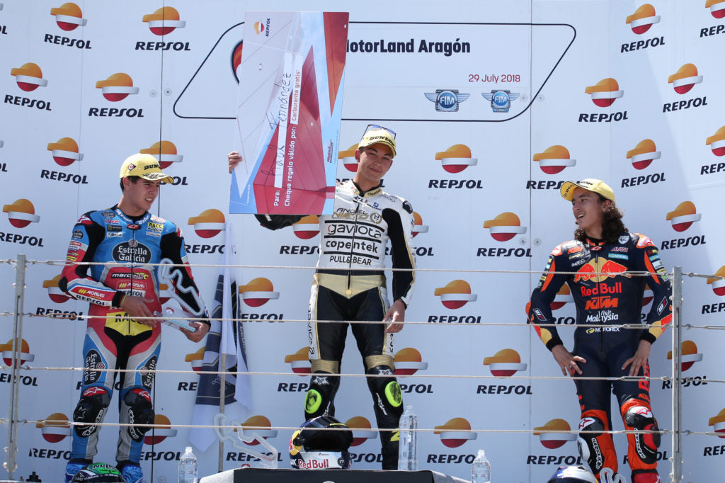 Double win for Pons and victories for Fernández, Rueda and Muñoz in Aragón
