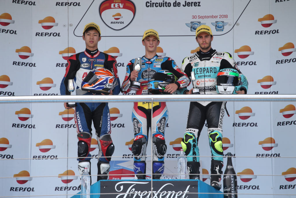 Kunii, García, Pons and Bertelle take the wins in Jerez