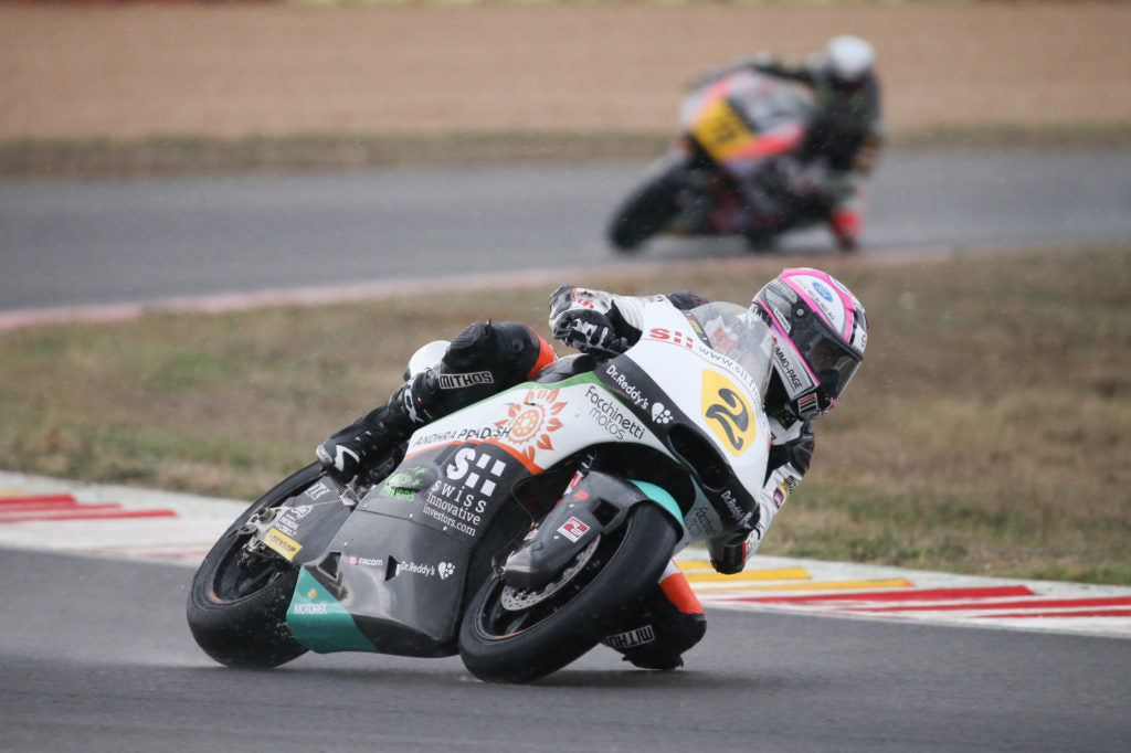 Jesko Raffin takes the Moto2 European Championship title in Albacete