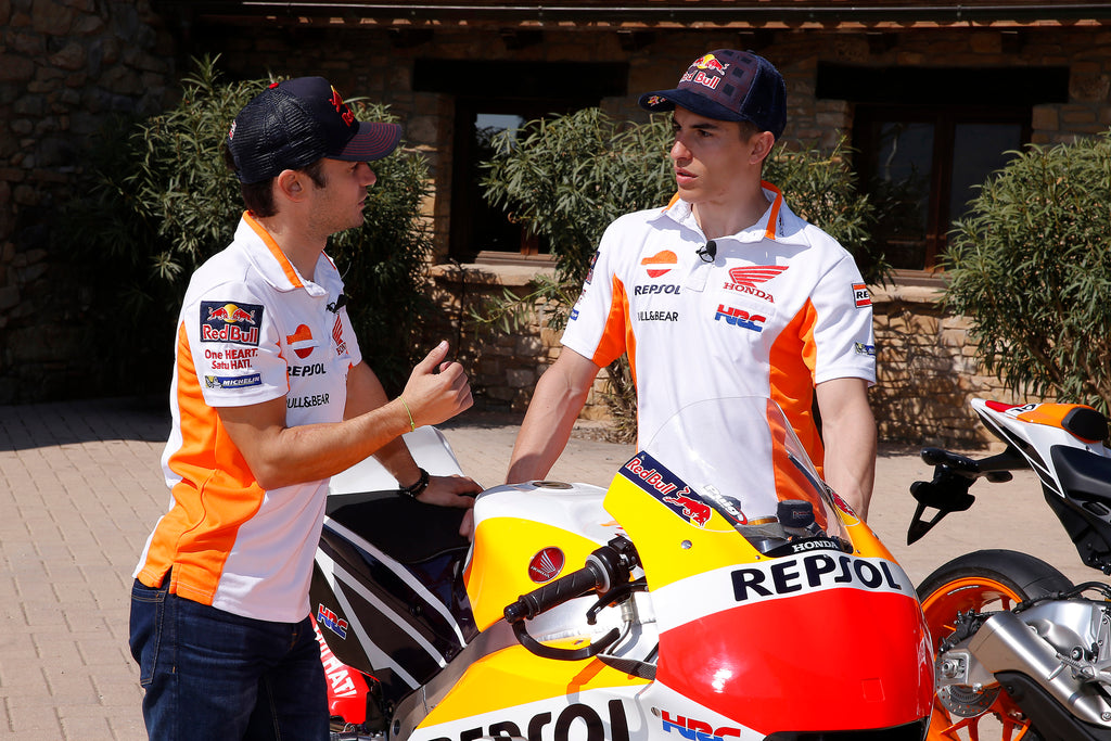 Márquez and Pedrosa's Honda goes from circuit to street