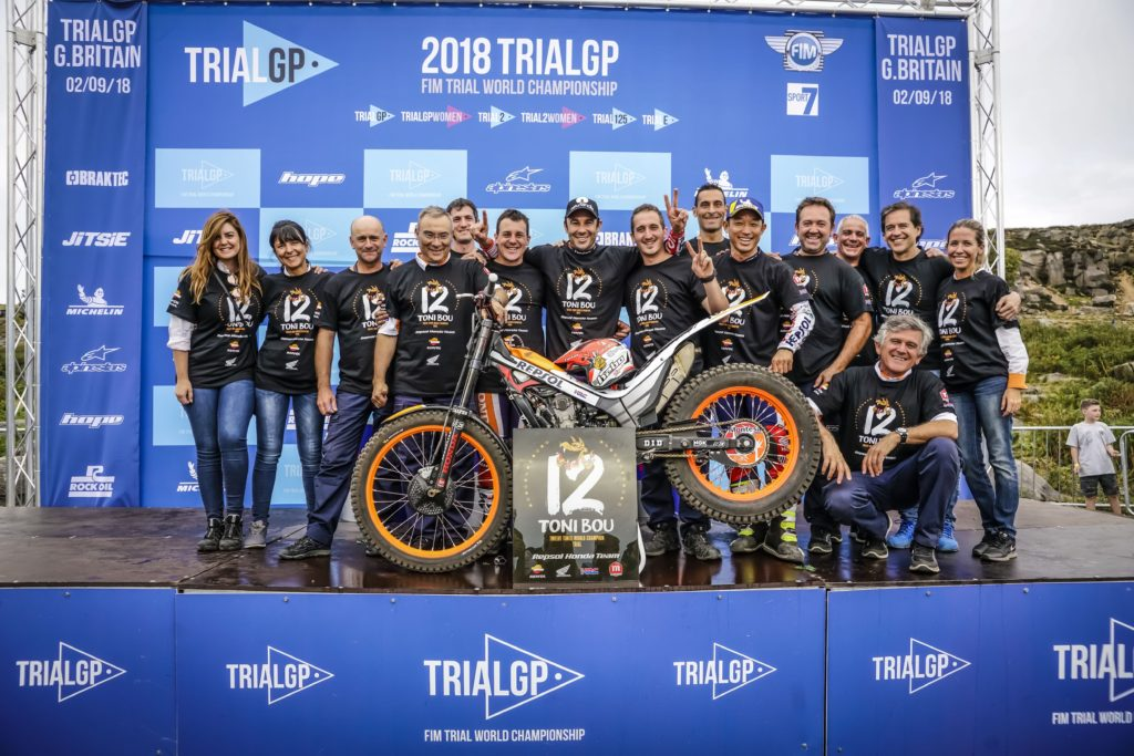 Victory and 24th World Championship for Toni Bou