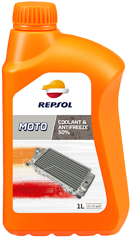 REPSOL MOTO COOLANT & ANTIFREEZE 50%