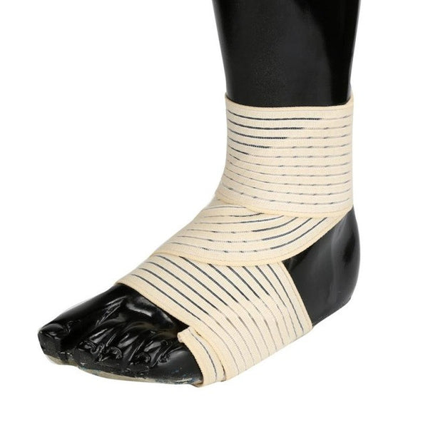 Compression Ankle Support with Straps