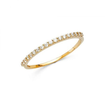 0.65 Ct. Pave Set 14k Gold Engagement Wedding Anniversary Ring - Glamour Life Diamonds
